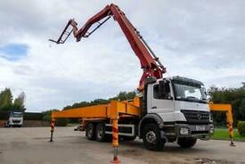 Mercedes-Benz Atego 2633 6x4 Concrete Pump