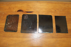 Lot of 4 Old Antique Tin Type Photographs London Ontario image 2