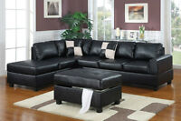 Moxie 3pc Sectional Sofa Set, $599 Tax Included!!!