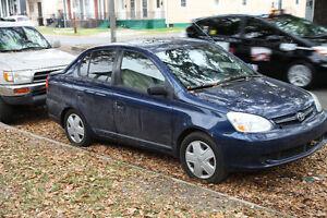 2003 Toyota Echo Berline BLEU, Démarreur Électrique