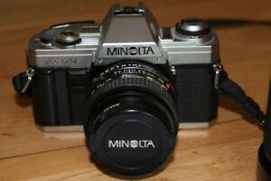 Caméra Minolta X370 Argentique
