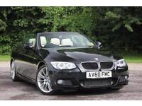 2010 BMW 3 SERIES 320D M SPORT CONVERTIBLE DIESEL