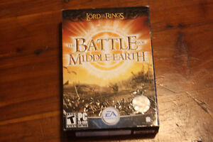 PC Battle for Middle Earth Lord of the Rings game