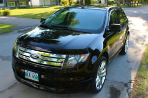 "2009 Ford Edge SPORT AWD, LOW KM 88K - 1 OWNER!  22"" Wheels"