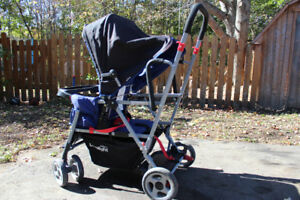 Joovy Caboose ultralight double sit or stand stroller