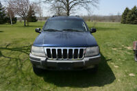 2002 Jeep Grand Cherokee, SOLD AS IS