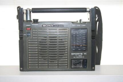 Vintage Sony Radio Clovelly Eastern Suburbs Preview
