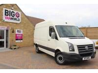 2011 VOLKSWAGEN CRAFTER CR35 BLUE TDI MWB HIGH ROOF VAN MWB DIESEL