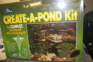 NEW POND KIT for your Landscaping Project