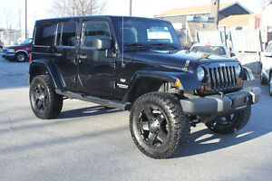 2011 Jeep Wrangler Unlimited CUSTOM LIFTED l OFF ROAD l LEATHER