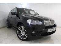 2011 60 BMW X5 3.0 XDRIVE40D M SPORT 5DR AUTOMATIC 302 BHP DIESEL