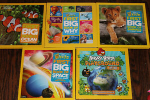 National Geographic books for curious children