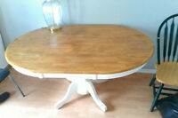 Kitchen table must go