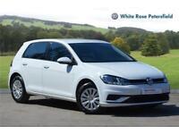 2017 Volkswagen Golf S 1.0 TSI 85PS 5-speed Manual 5 Door Petrol white Manual
