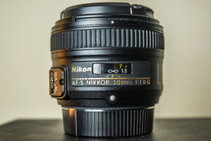 *SOLD* Nikon 50mm Lens - MINT CONDITION