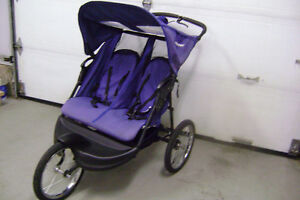 Baby Trend Double Jogging Stroller .