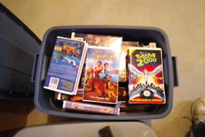 VHS LOT FOR SALE