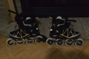 patin a roue alligné rollerblade