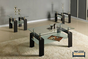NEW ★ 3 piece coffee table sets ★ Can Deliver Cambridge Kitchener Area image 2
