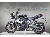 2016 66 TRIUMPH STREET TRIPLE 675 ABS 675CC 0% DEPOSIT FINANCE AVAILABLE