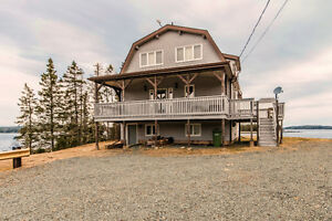 Private Oceanfront Property near Sheet Harbour