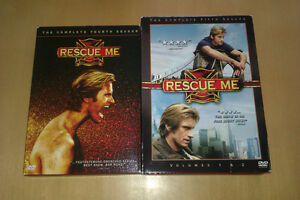 Rescue Me Complete Season 4 and 5 DVD Sets