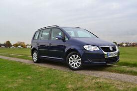 2008 58 Volkswagen Touran 1.9TDI 7 Seater S £144 A Month £0 Deposit