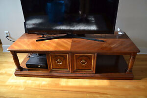 Sturdy TV table