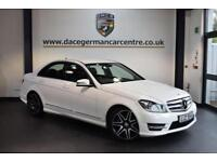 2013 MERCEDES-BENZ C CLASS 2.1 C220 CDI BLUEEFFICIENCY AMG SPORT PLUS 4DR AUTO 1