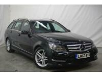 2013 Mercedes-Benz C Class C220 CDI BLUEEFFICIENCY AMG SPORT Diesel black Automa