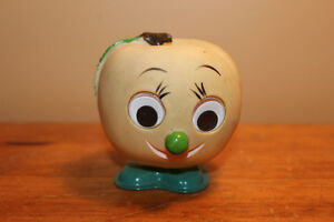 Vintage Wind Up Fruit Character Toy