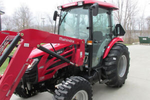 2017 Mahindra 2565 CAB 4X4 65HP Worlds #1 Selling Tractor Brand!