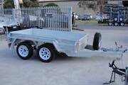 8x5 Tandem Box Trailer - Galvanised - New Sunraysia Style Wheels Thomastown Whittlesea Area Preview