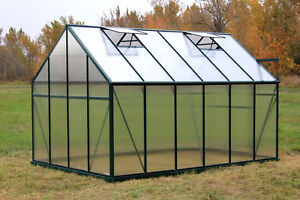 Heavy duty backyard greenhouse 12.5'x8.5' for sale delivery incl
