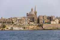 Malta 18Days with Air from Fredericton, Moncton or Saint John