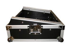 19 Zoll Mixer Case 8HE Top Verarbeitet Mischpult Rack mit Schräge 19