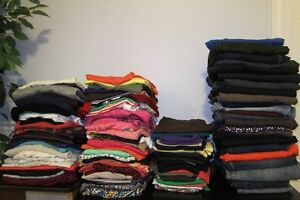 Huge lot of womans clothing (Sz: XS, SM, MED)