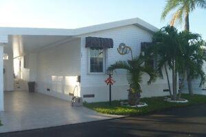 Maison mobile à vendre Park Lake, Hallandale Floride