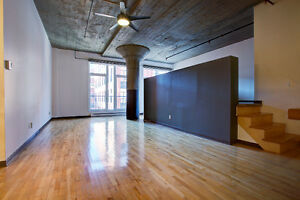 Price reduction for this loft with garage !!!