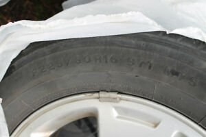 Tires - set of (4) summer Firestone on rims