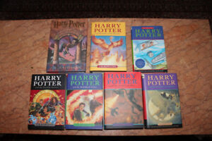 Harry Potter complete set of 7 Hard cover with Dust jackets