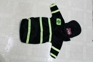 Fire fighter costume size 3-6 months