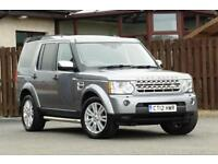 2012 LAND ROVER DISCOVERY 4 3.0 SDV6 XS 5DR ESTATE DIESEL