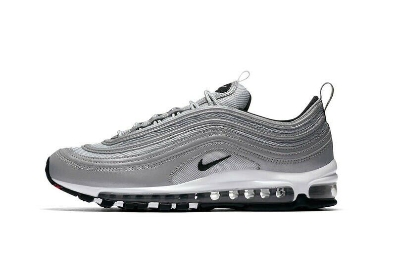e44c9a973a376a NEW NIKE AIR MAX 97 SILVER GREY REFLECTIVE