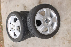 Ford Focus Rims and winter tires 205/50/16
