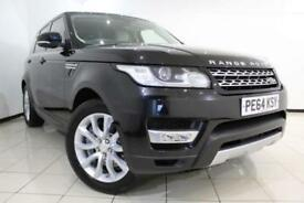 2014 64 LAND ROVER RANGE ROVER SPORT 3.0 SDV6 HSE 5DR AUTOMATIC 288 BHP DIESEL