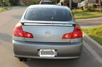 2005 Infiniti G35 CERTIFIED & E-TESTED 167,000kms MINT condition
