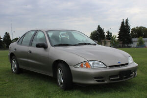Low Mileage Chevy Cavalier in Good Condition