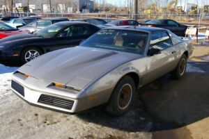 1983 Pontiac Trans Am V8 H.O  5 speed  T-Top