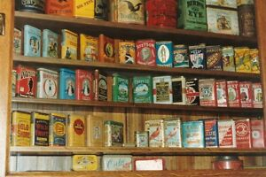 COLLECTOR LOOKING TO BUY ANTIQUE TOBACCO CANS VINTAGE TINS